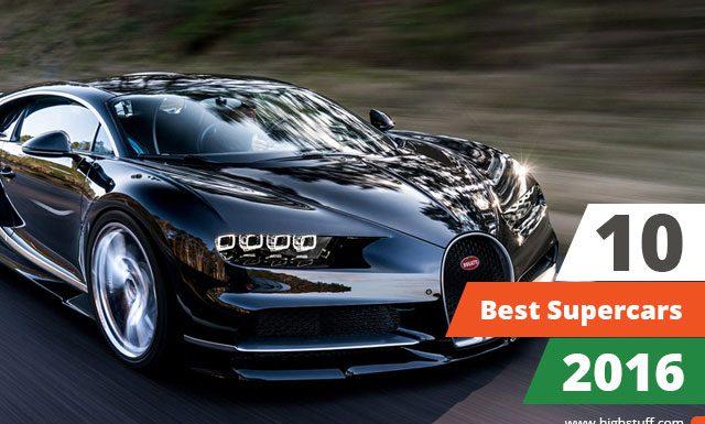 Best supercars 2016