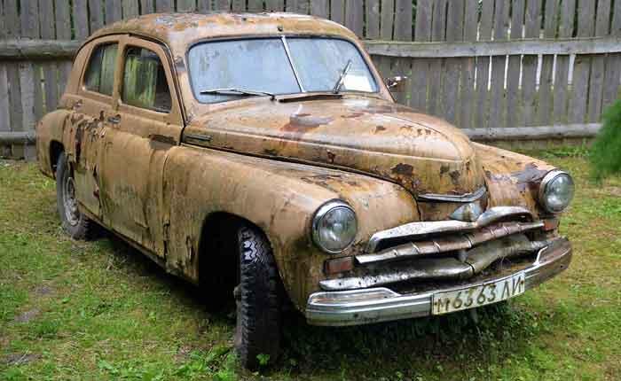 Rust-Car