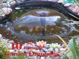 Beautiful Garden Fountains
