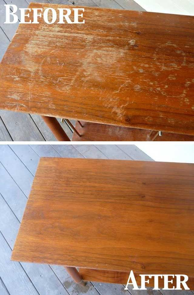 Clean your old furniture daily