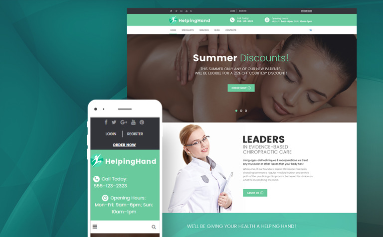 chiropractor--physical-rehabilitation-wordpress-theme