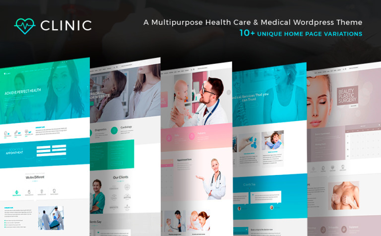 clinic-health-and-medical-center-wordpress-theme