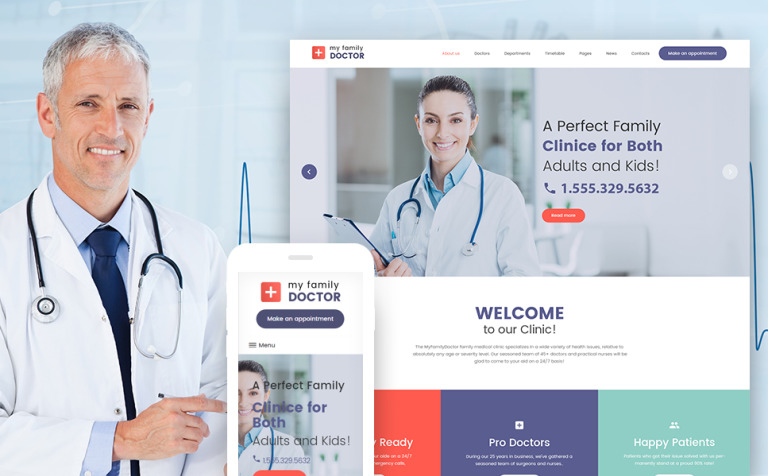 private-family-doctor-wordpress-theme