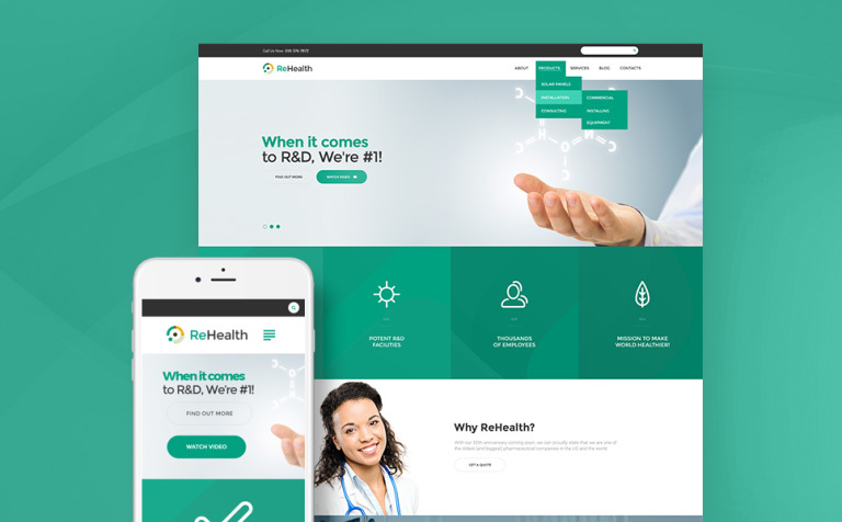 rehealth-medical--drug-store-wordpress-theme