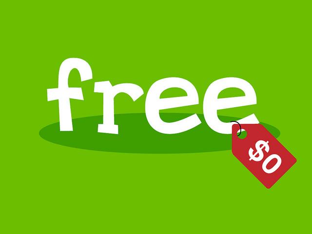 getting free stuff